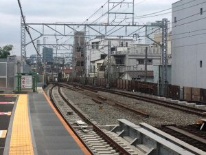 渋谷方向の様子